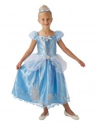 Prinses Assepoester™ kostuum met kroon voor meisjes