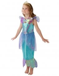 Prinses Ariël™ kostuum met kroon voor meisjes