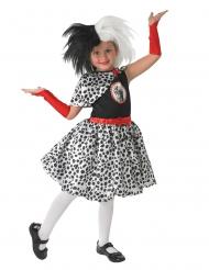 Cruella™ pruik voor meisjes