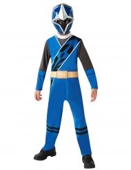Klassiek Blauw Power Rangers Ninja Steel™ kostuum voor kinderen
