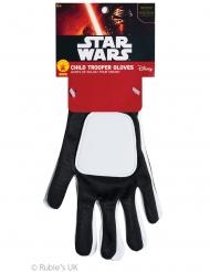 Star Wars™ Trooper handschoenen voor kinderen
