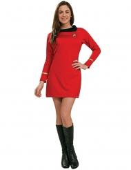 Deluxe Uhura Star Trek™ kostuum voor vrouwen