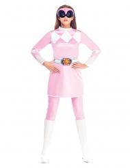 Roze Might Morphin Power Rangers™ kostuum voor vrouwen
