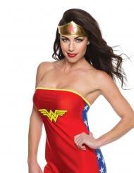 Goudkleurige Wonder Woman™ tiara voor vrouwen