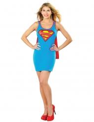 Supergirl™ jurk met cape voor vrouwen
