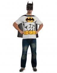 Batman™ t-shirt en masker voor volwassenen
