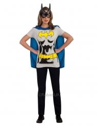 Batgirl™ t-shirt en masker voor vrouwen