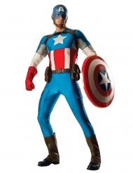 Super deluxe Captain America™ kostuum voor volwassenen