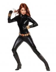 Super deluxe Black Widow™ kostuum voor volwassenen