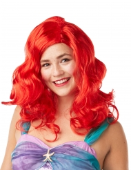 Rode Ariel™ pruik voor dames