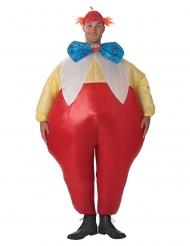 Opblaasbaar Tweedledee of Tweedledum™ kostuum voor volwassenen
