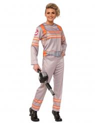 Zilverkleurig Ghostbusters™ kostuum voor vrouwen