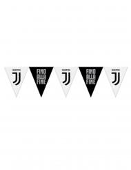 Zwarte en witte Juventus™ vlaggenslinger