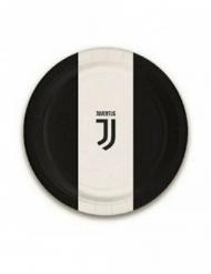 8 kleine kartonnen Juventus™ bordjes
