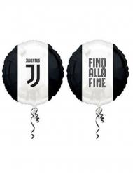 Zwarte en witte aluminium Juventus™ ballon
