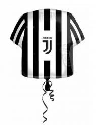 Zwarte en witte aluminium Juventus™ shirt ballon