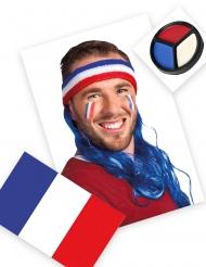 Frankrijk supporter set met hoofdband