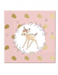 20 papieren premium Bambi™ servetten