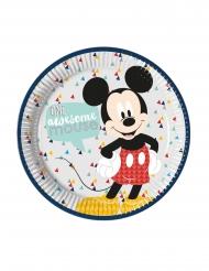 8 premium kartonnen Mickey™ borden