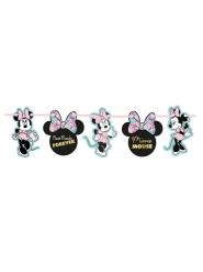 Kartonnen premium Minnie™ metallic slinger