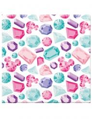 20 premium papieren Minnie™ servetten