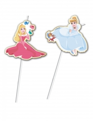 6 premium Disney Prinsessen™ rietjes