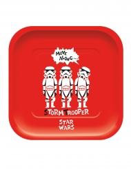4 rechthoekige kartonnen premium Star Wars™ borden