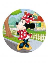 Eetbare Minnie™ taartschijf