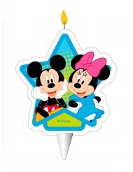 Mickey en Minnie™ verjaardagskaars