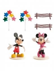 Mickey en Minnie™ taartdecoratie set