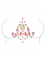 Veelkleurige zelfklevende lichaamsjuwelen voor volwassenen