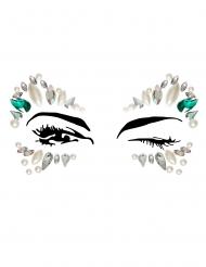 Prinses gezicht juwelen voor volwassenen