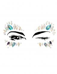 Zelfklevende koningin gezicht juwelen voor volwassenen