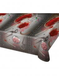 Plastic bloederig gereedschap tafelkleed