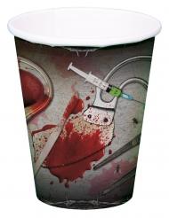 8 bloederig gereedschap bekers