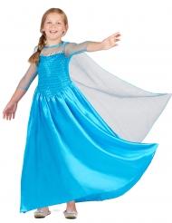 Blauw ijsprinses kostuum voor meisjes