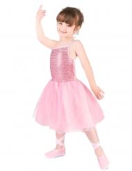 Roze ballet danseres kostuum voor meisjes