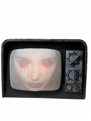 Bezeten tv met licht en geluid
