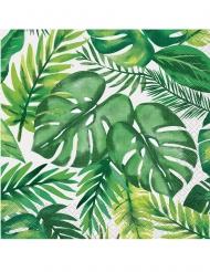 16 papieren tropische servetten