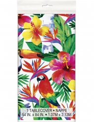 Plastic Tropical Palm tafelkleed