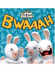 20 papieren Raving Rabbids™ servetten
