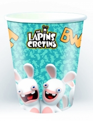 6 kartonnen Raving Rabbids™ bekers