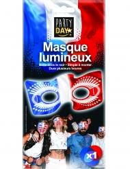 Driekleurig fosforescerend Frankrijk masker