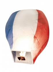 Driekleurige Frankrijk zwevende lantaarn