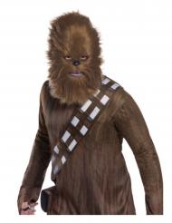 Chewbacca™ Star Wars masker met bont voor volwassenen