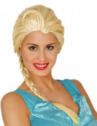 Blonde ijsprinses pruik voor vrouwen