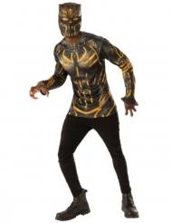 Black Panther™ Erik Killmonger™ t-shirt en masker voor volwassenen