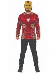 Iron Man Infinity War™ t-shirt en masker voor volwassenen