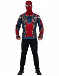 Iron Spider Infinity War™ t-shirt en masker voor volwassenen