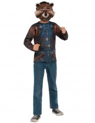 Rocket Raccoon Infinity War™ t-shirt en masker voor volwassenen